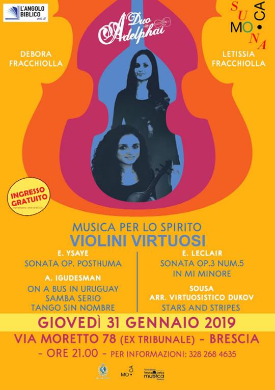 Violini Virtuosi a Brescia