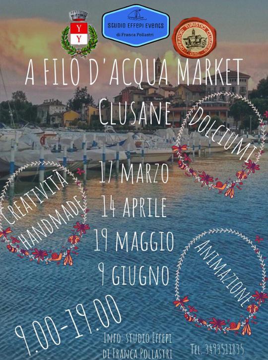 A Filo d'Acqua Market a Clusane