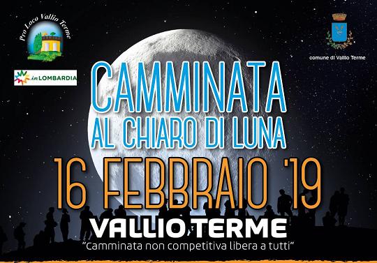 Camminata al Chiaro di Luna a Vallio Terme