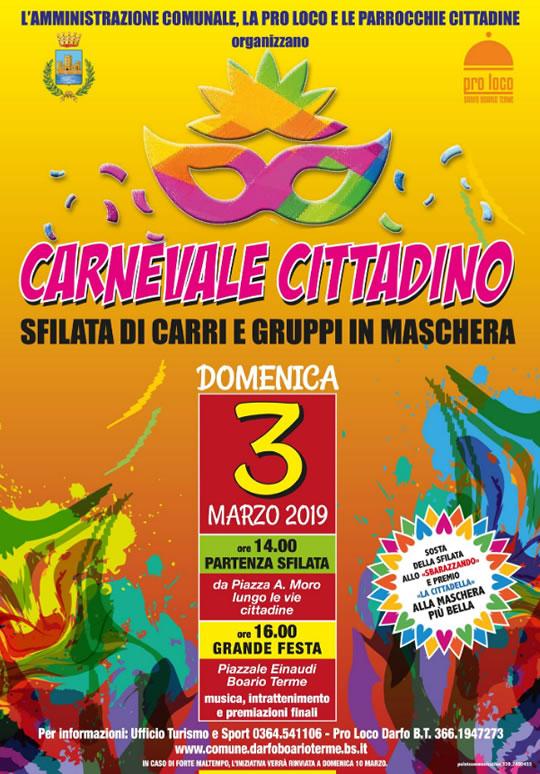 Carnevale Cittadino a Darfo BT