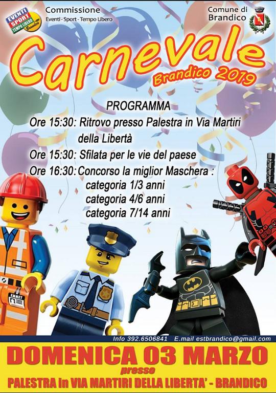 Carnevale a Brandico