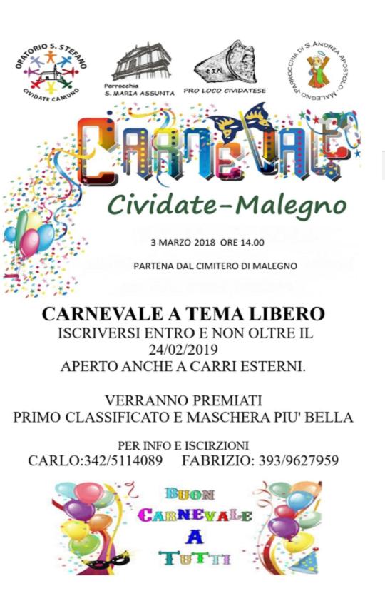 Carnevale a Cividate Malegno