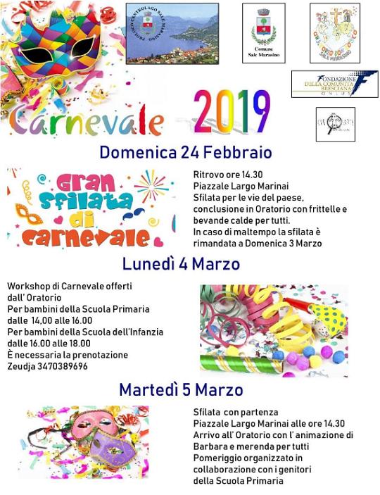 Carnevale a Sale Marasino