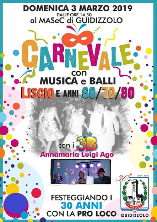 Carnevale con Musica e Balli a Guidizzolo MN