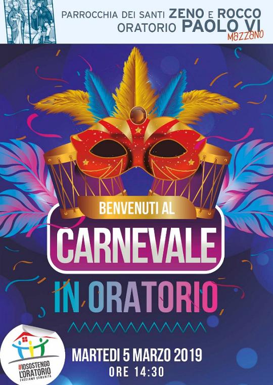 Carnevale in Oratorio a Mazzano