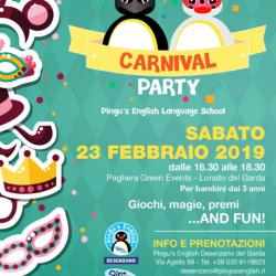 Carnival Party a Desenzano