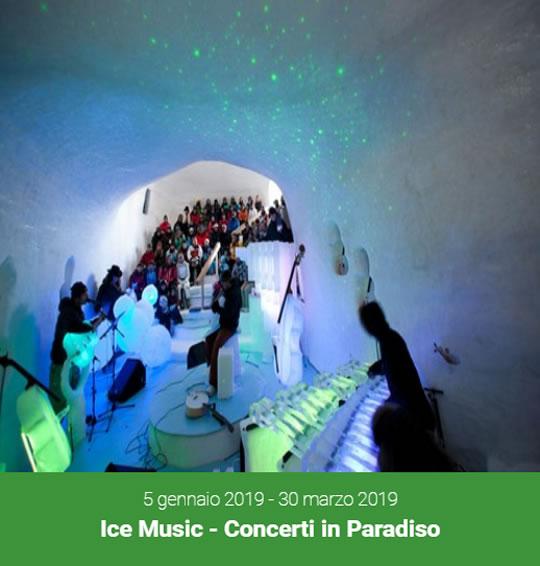 Ice Music Concerti in Paradiso a Ponte di Legno