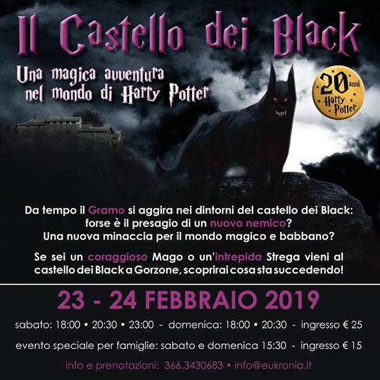 Il Castello dei Black a Darfo Boario Terme