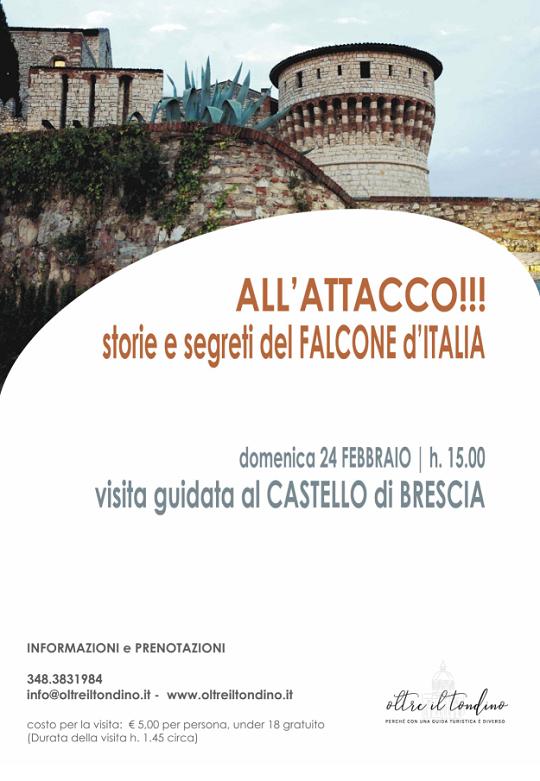 ImmagineAll'attacco!!! Storie e segreti del Falcone d'Italia a Brescia