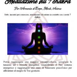 Meditazione sui Chakra a Brescia