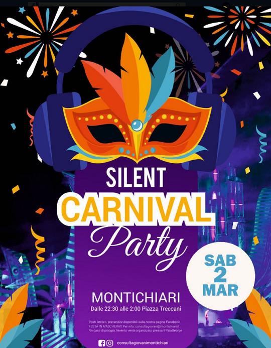 Silent Carnival Party a Montichiari