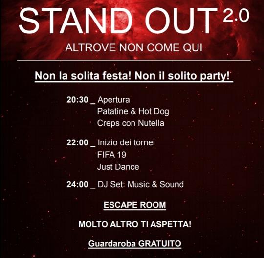 Stand Out 2.0 a Bornato