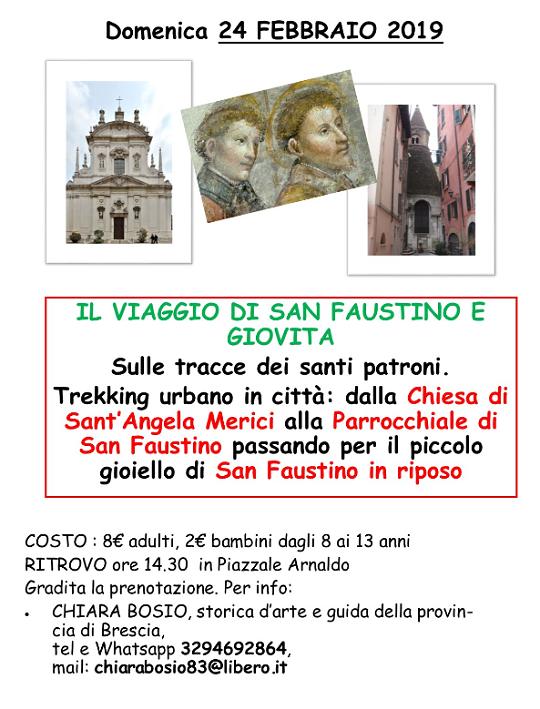 Sulle tracce dei Santi Faustino e Giovita a Brescia