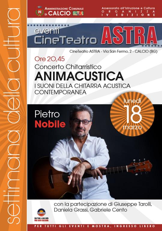 Concerto Chitarristico Animacustica a Calcio