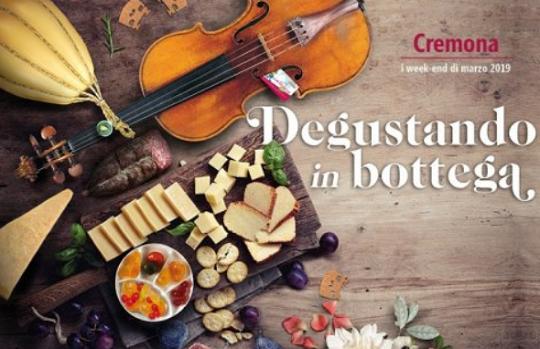 Degustando in Bottega a Cremona