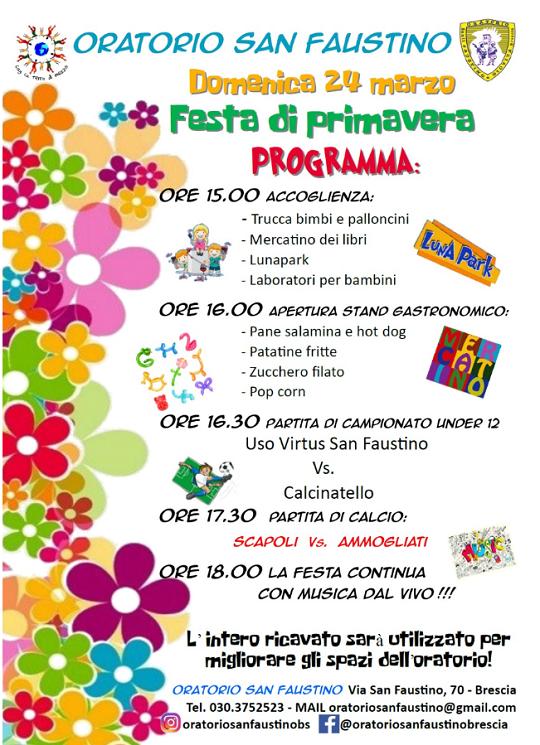 Festa di Primavera a Brescia