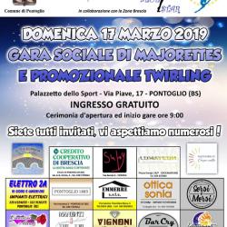 Gara Sociale di Majorettes e promozione Twirling a Pontoglio