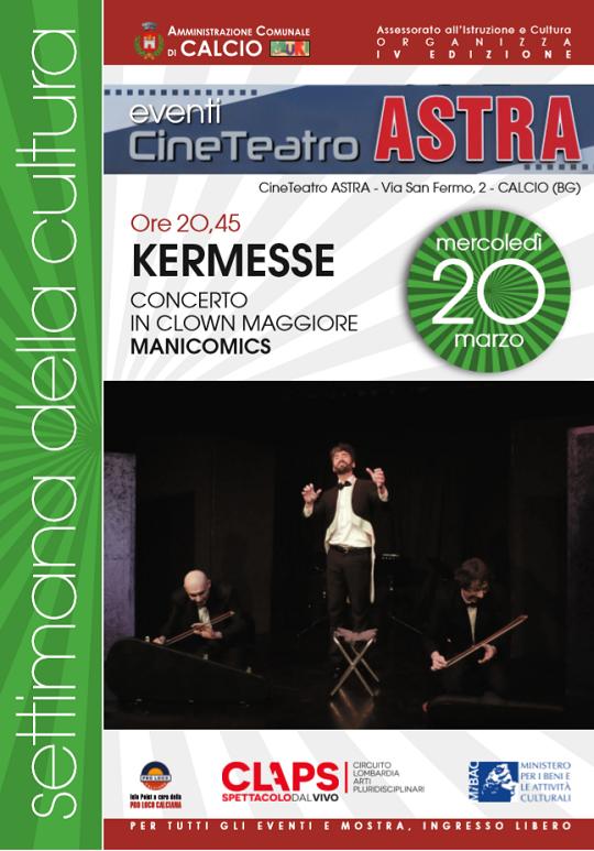 Kermesse Concerto in Clown Maggiore a Calcio (Bg)