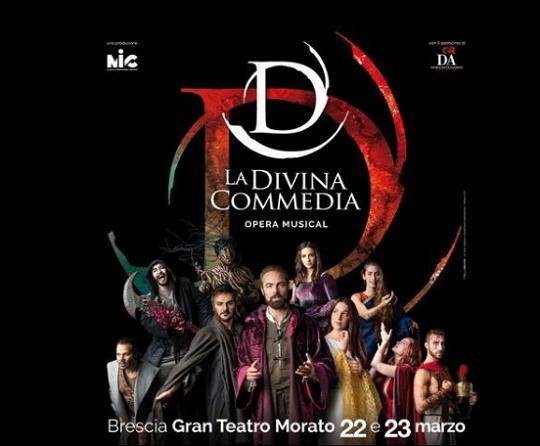 La Divina Commedia a Brescia
