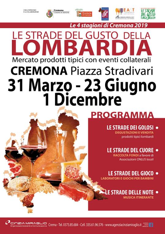 Le Strade del Gusto della Lombardia a Cremona