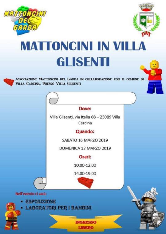 Mattoncini in Villa a Villa Glisenti