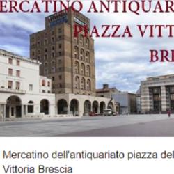 Mercatino dell'Antiquariato Piazza della Vittoria a Brescia