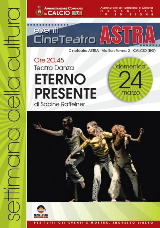 Teatro Danza Eterno Presente a Calcio (Bg)