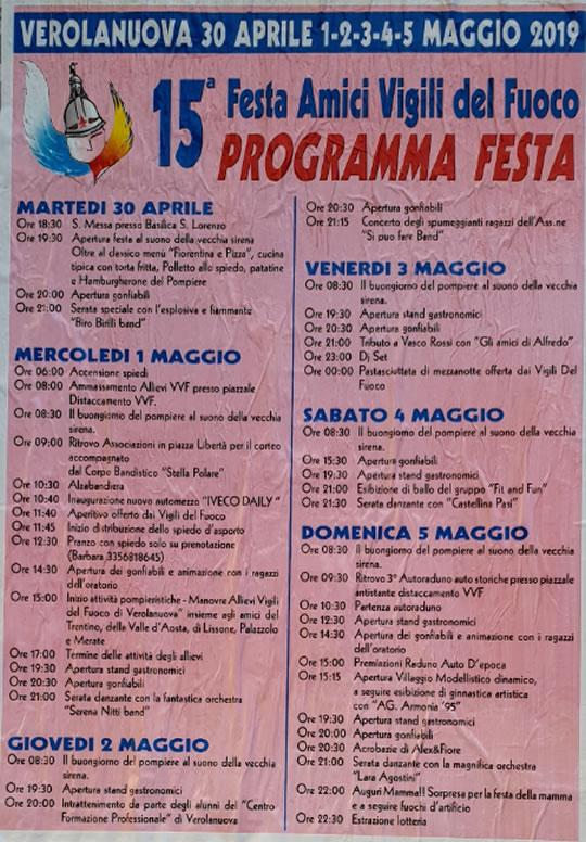 15° Festa Amici Vigili Del Fuoco di Verolanuova