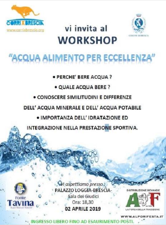 Acqua Alimento per Eccellenza a Brescia