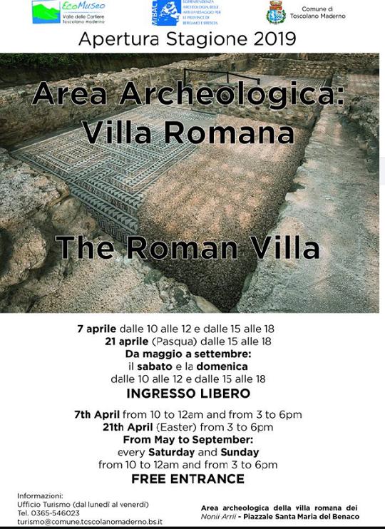 Area Archeologica Villa Romana a Toscolano Maderno