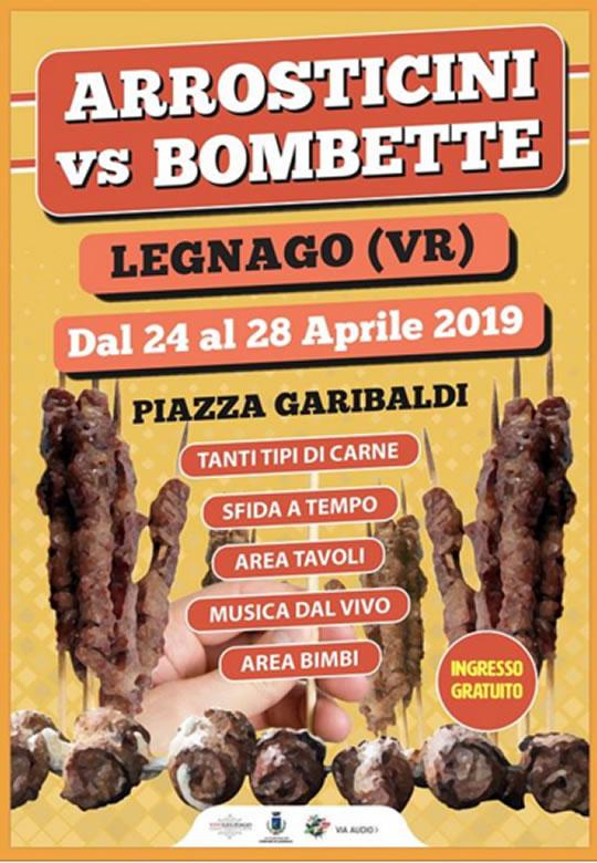 Arrsticini Vs Bombette a Legnago VR