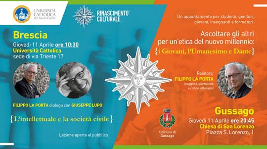 Ascoltare gli altri per un'etica del nuovo millennio a Brescia