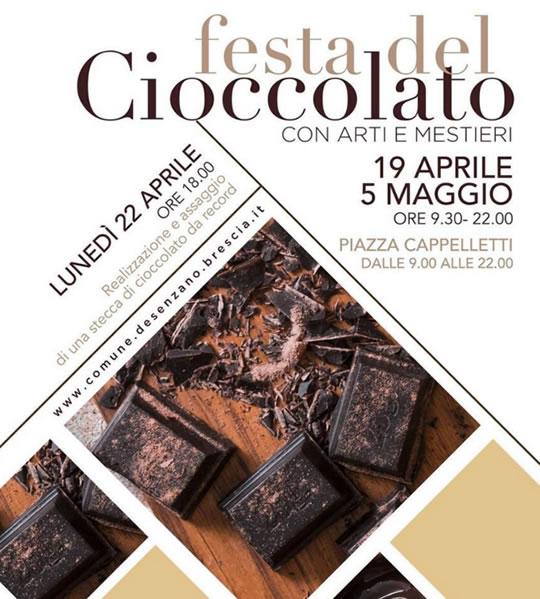 Festa del Cioccolato con Arti e Mestieri a Desenzano