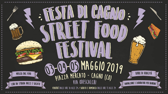 Festa di Cagno Street Food Festival CO
