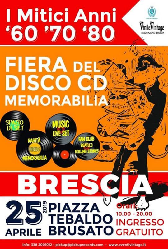 Fiera del Disco Memorabilia a Brescia