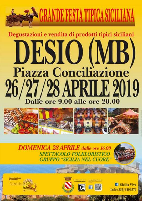 Grande Festa Tipica Siciliana a Desio MB