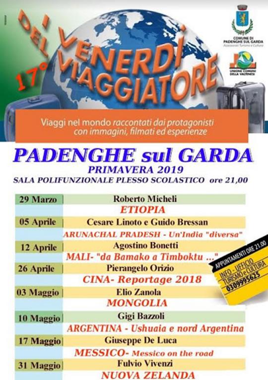 I Venerdì del Viaggiatore a Padenghe
