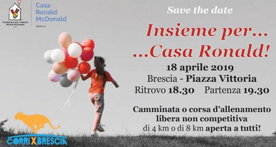 Insieme per Casa Ronald a Brescia