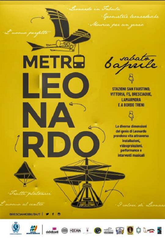 Metro Leonardo Brescia