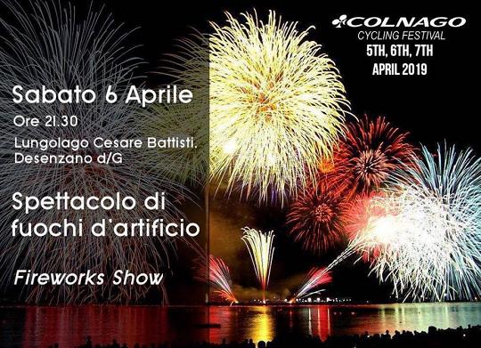 Spettacolo di Fuochi d'Artificio a Desenzano