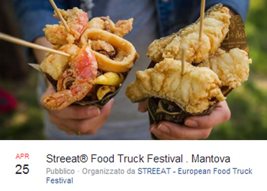 Streeat Food Truck Festival a Mantova