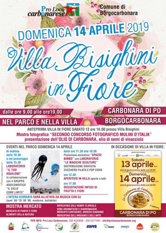 Villa Bisighini in Fiore a Carbonara di Po MN