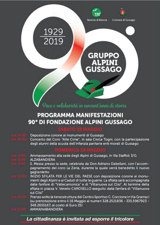 90 Fondazione Gruppo Alpini Gussago