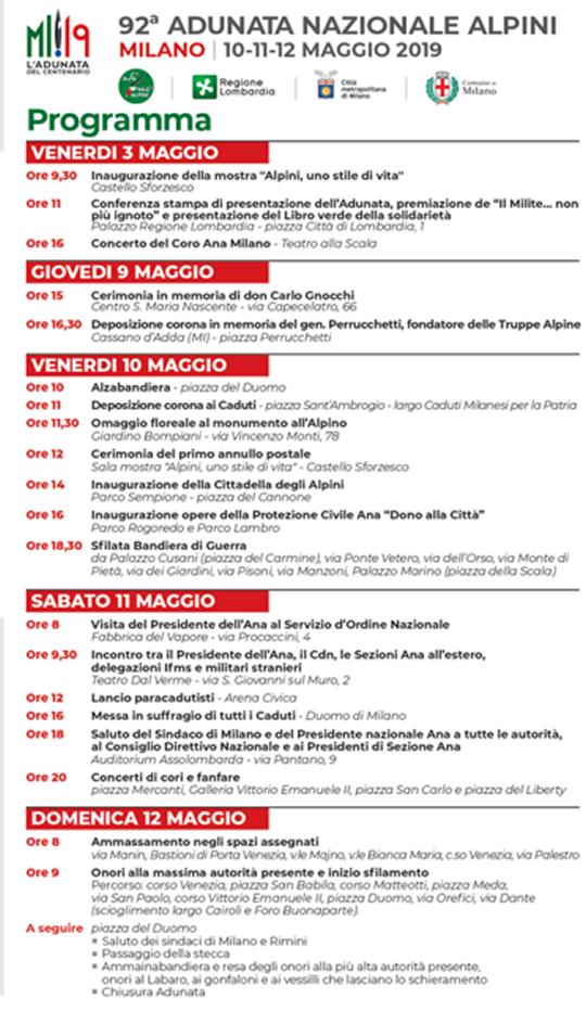 92 Adunata Nazionale Alpini a Milano