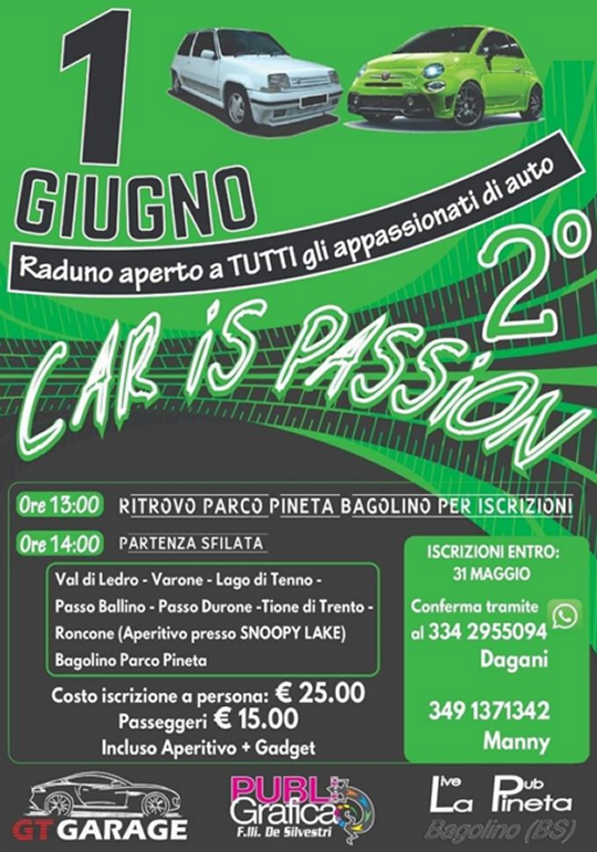 Car is Passion a Bagolino