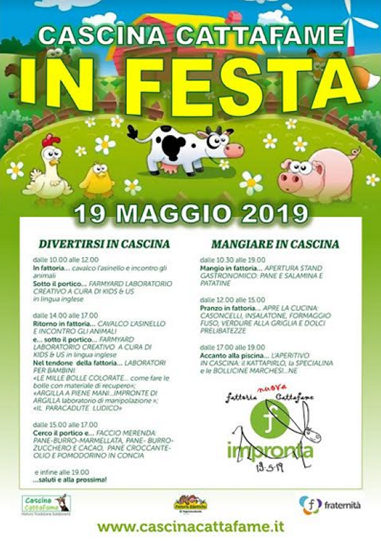 Cascina Cattafame in Festa