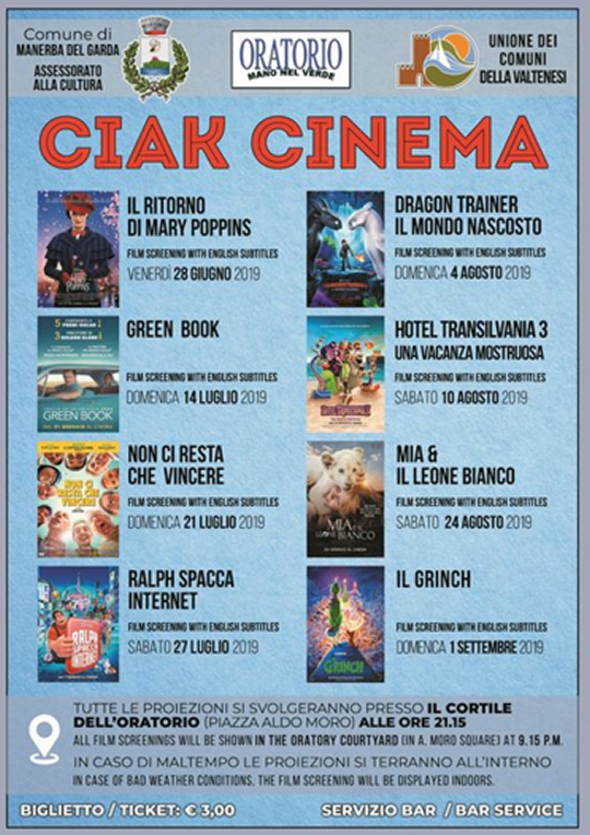 Ciak Cinema a Manerba