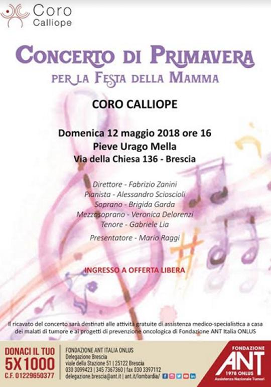 Concerto di Primavera a Brescia