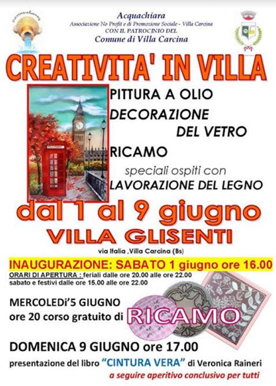 Creatività in Villa a Villa Carcina