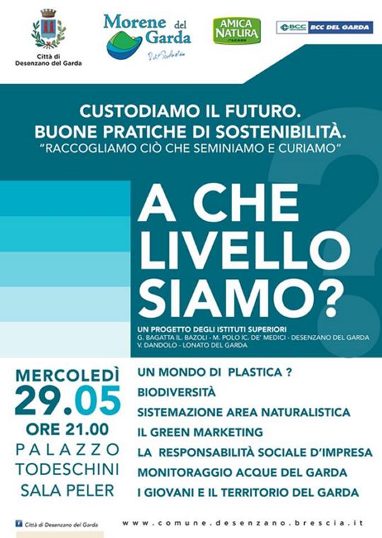 Custodiamo il Futuro Buone Pratiche di Sostenibilità a Desenzano